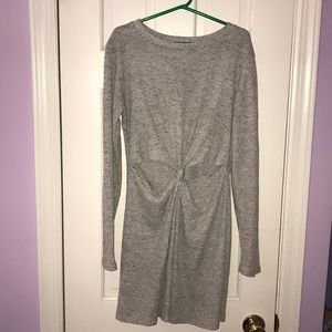 Dresses & Skirts - Long sleeve t shirt knot dress size small